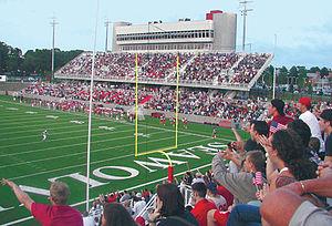 Stoney Brook University Stadium Construction